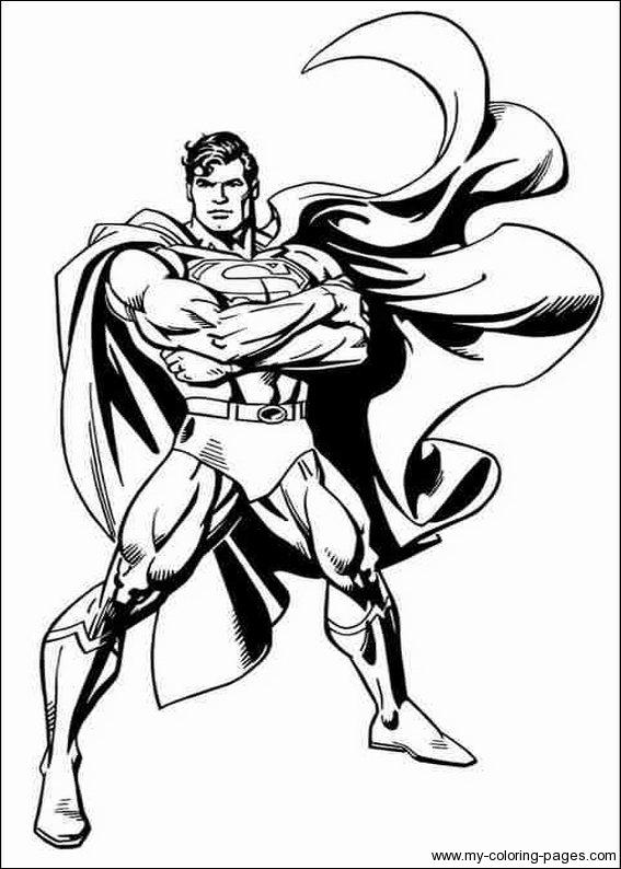 Nos Jeux De Coloriage Superman À Imprimer Gratuit - Page 5 concernant Coloriage Superman A Imprimer Gratuit