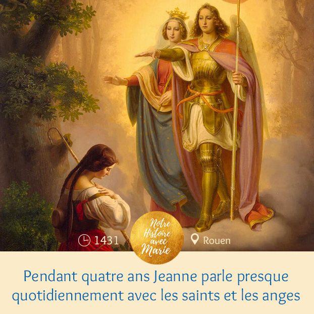 Notre Histoire Avec Marie-Frise- & Redécouvrons Notre serapportantà Dessin Magique Ste Jeanne D'Arc