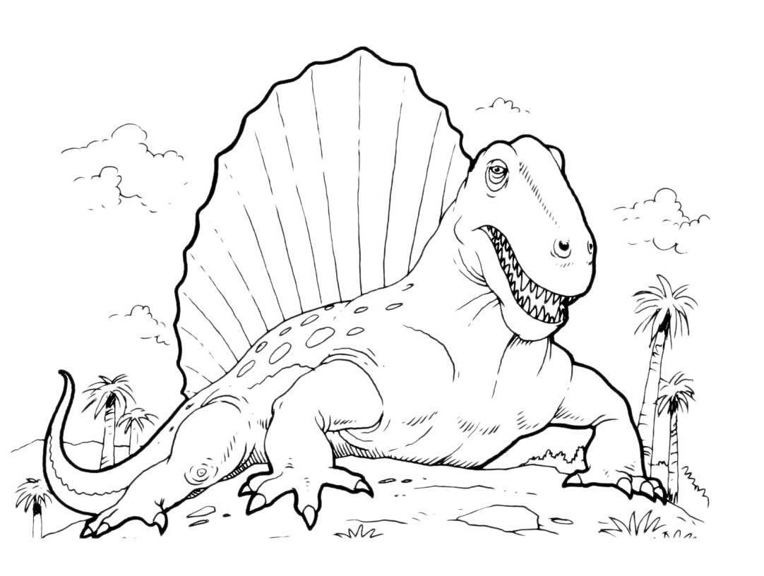 Nouveau Coloriage De La Prehistoire A Imprimer | Imprimer intérieur Dessin À Colorier Dinosaure