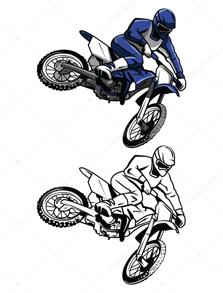 Nouveau Coloriage De Moto Cross Gratuit En Ligne | Des pour Moto Cross À Colorier
