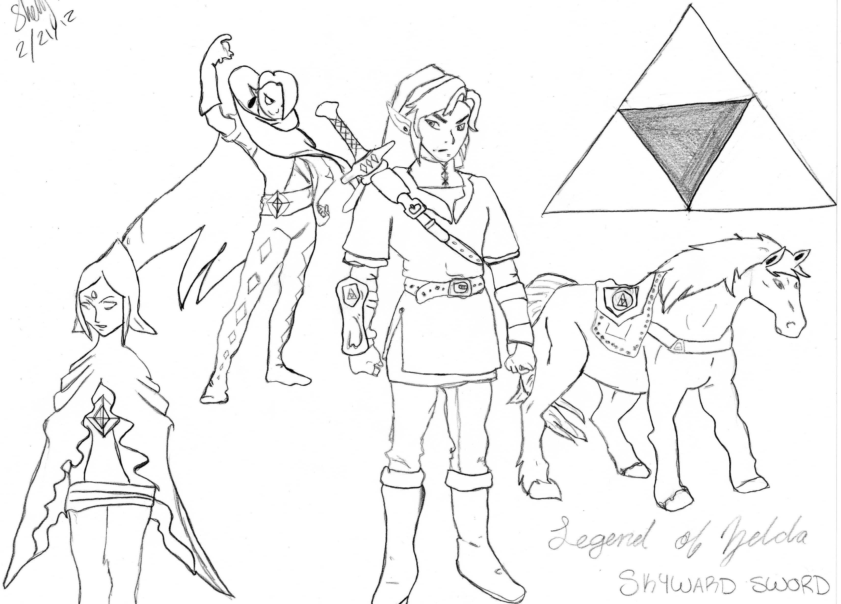 Nouveau Coloriage Twilight A Imprimer | Haut Coloriage Hd pour Coloriage Zelda Twilight Princess