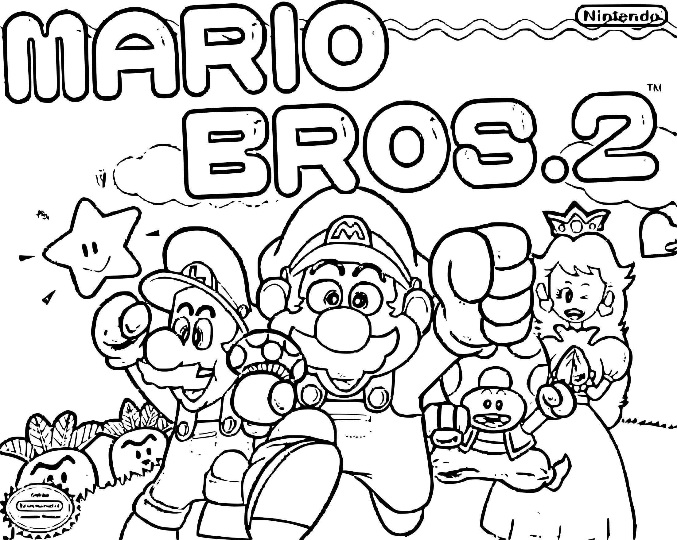 Nouveau Dessin A Colorier Gratuit Mario Bros avec Dessin À Imprimer Mario