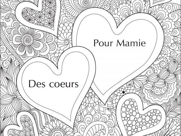 Nouveau Pour Dessin A Colorier Anniversaire Mamie concernant Coloriage Anniversaire Mamie
