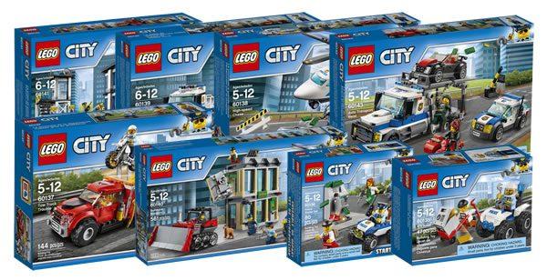 Nouveautés Lego City 2017 : Premiers Visuels Officiels pour Lego City Dessin Animé