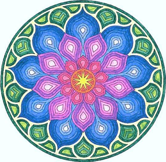 Nouvelle Page 1 tout Mandala Colorié