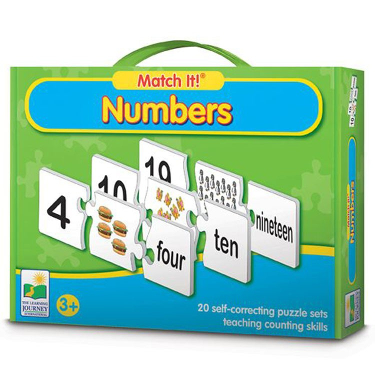 "Numbers Match It! Learning Puzzle - Educational Toys Planet serapportantà Cache: .Com"" ""Learn-Numbers-In-English"""""