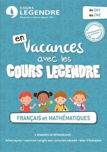 Ô Français Et Mathématiques Du Cm1 Au Cm2 Cahier De avec Ma Maitresse De Cm1 Cm2 Ann?E A Pr?Histoire