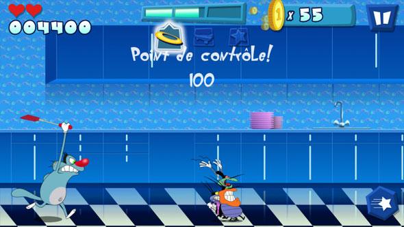 Oggy Et Les Cafards Sur Iphone, Ipad Et Android destiné Jeux De Oggy Et Les Cafards Gratuit