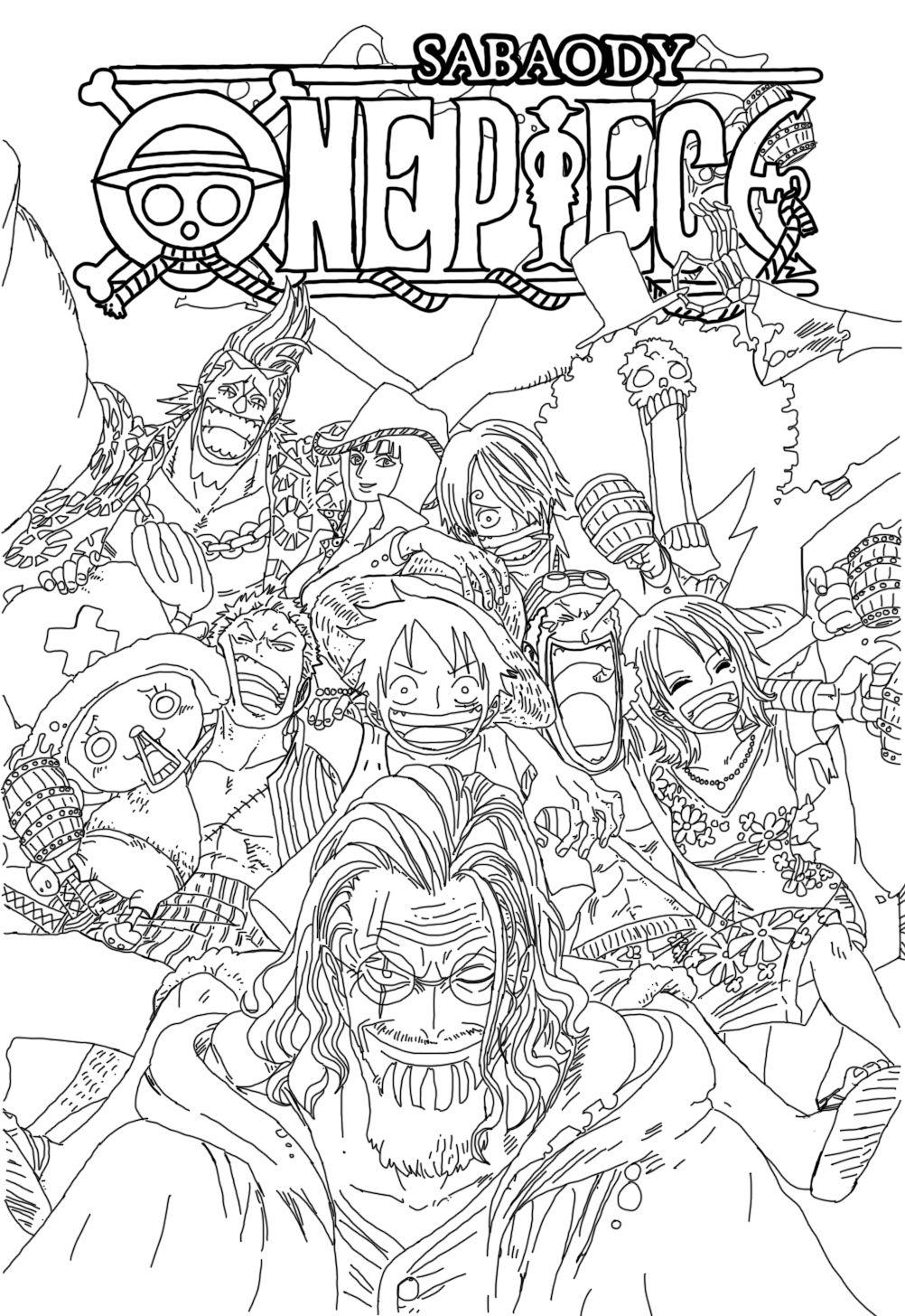 One Piece V52 Line Art By Sasori1Kankuro2 | Desenhos Para dedans Coloriage One Piece Luffy