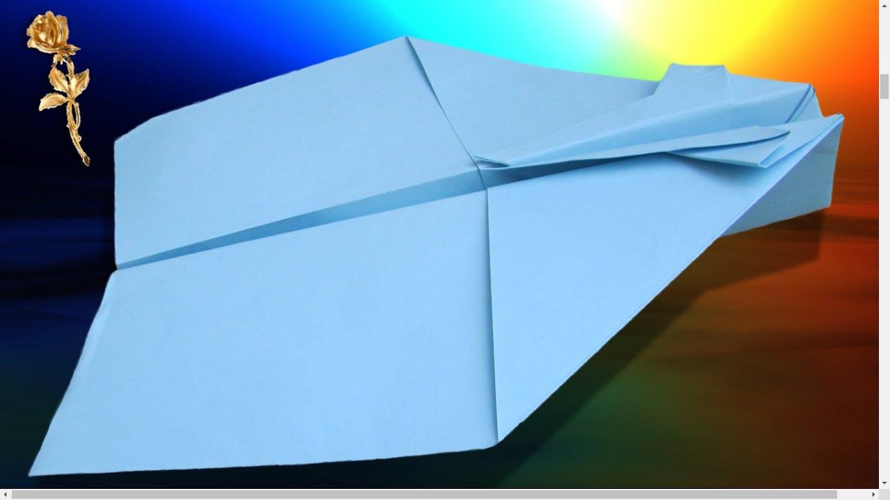 Origami Facile : Avion Qui Vole Très Bien Et Très Loin intérieur Origami Facile Avion