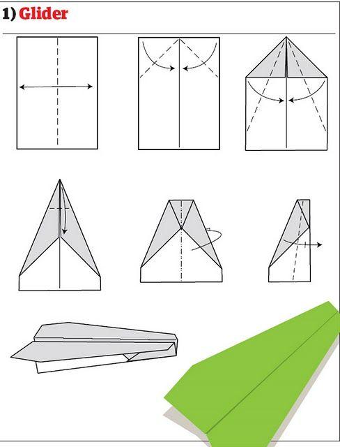 Origami Facile Avion tout Origami Facile Avion