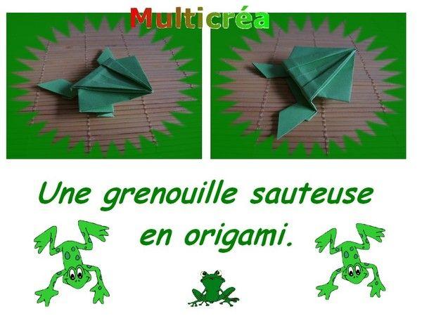 Origami Facile La Grenouille tout Comment Dessiner Une Grenouille Facile