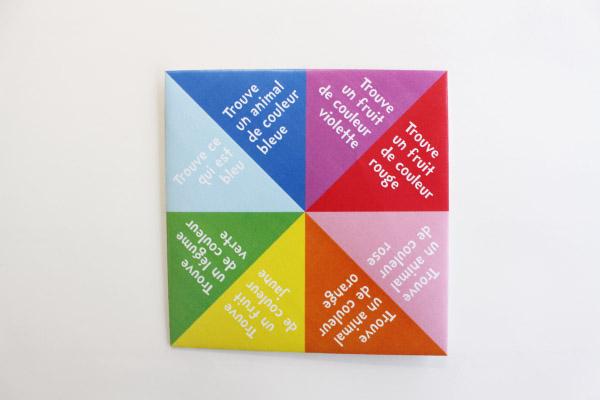 Origami Indovino à Cocote En Papier