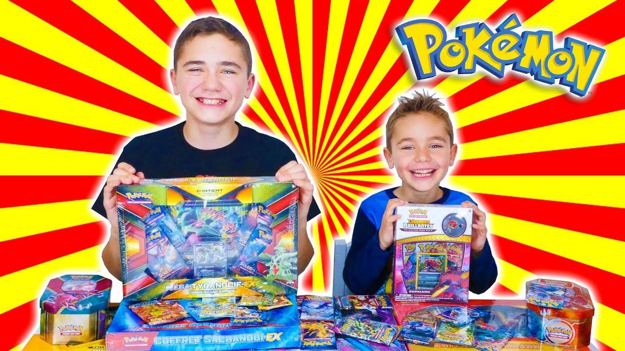 Ouverture Xxl De Boosters Pokémon ! - destiné Dessin A Imprimer Pok?Mon Lougaroc Diurne