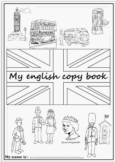 Pages De Garde Du Cahier D'Anglais | Page De Garde Anglais encequiconcerne Garde Anglais Dessin