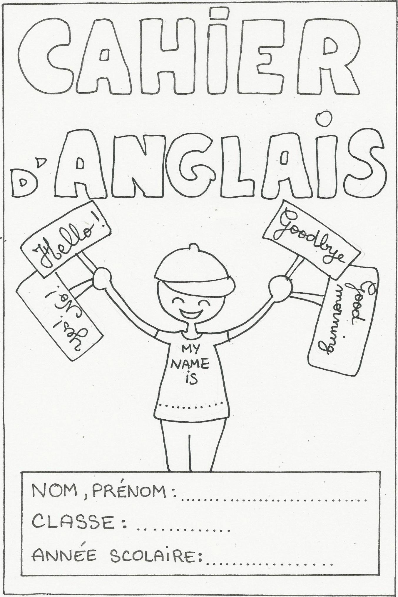 Pages De Garde Pour L'École! - Marion Dessine Pour Ne Rien encequiconcerne Garde Anglais Dessin