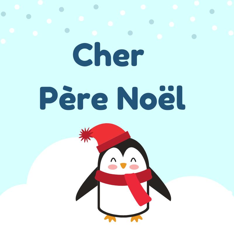 Papier Lettre Pere Noel - GreatestColoringBook.com