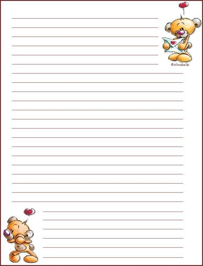 Papier À Lettre concernant Papier A Letre