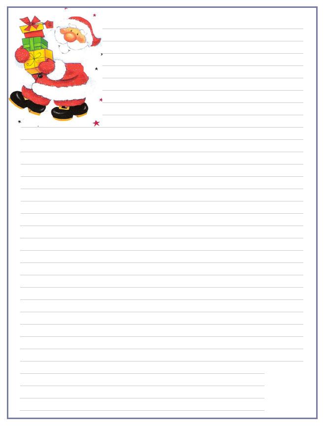 Papier A Lettre - Page 2 concernant Papier A Lettre Noel