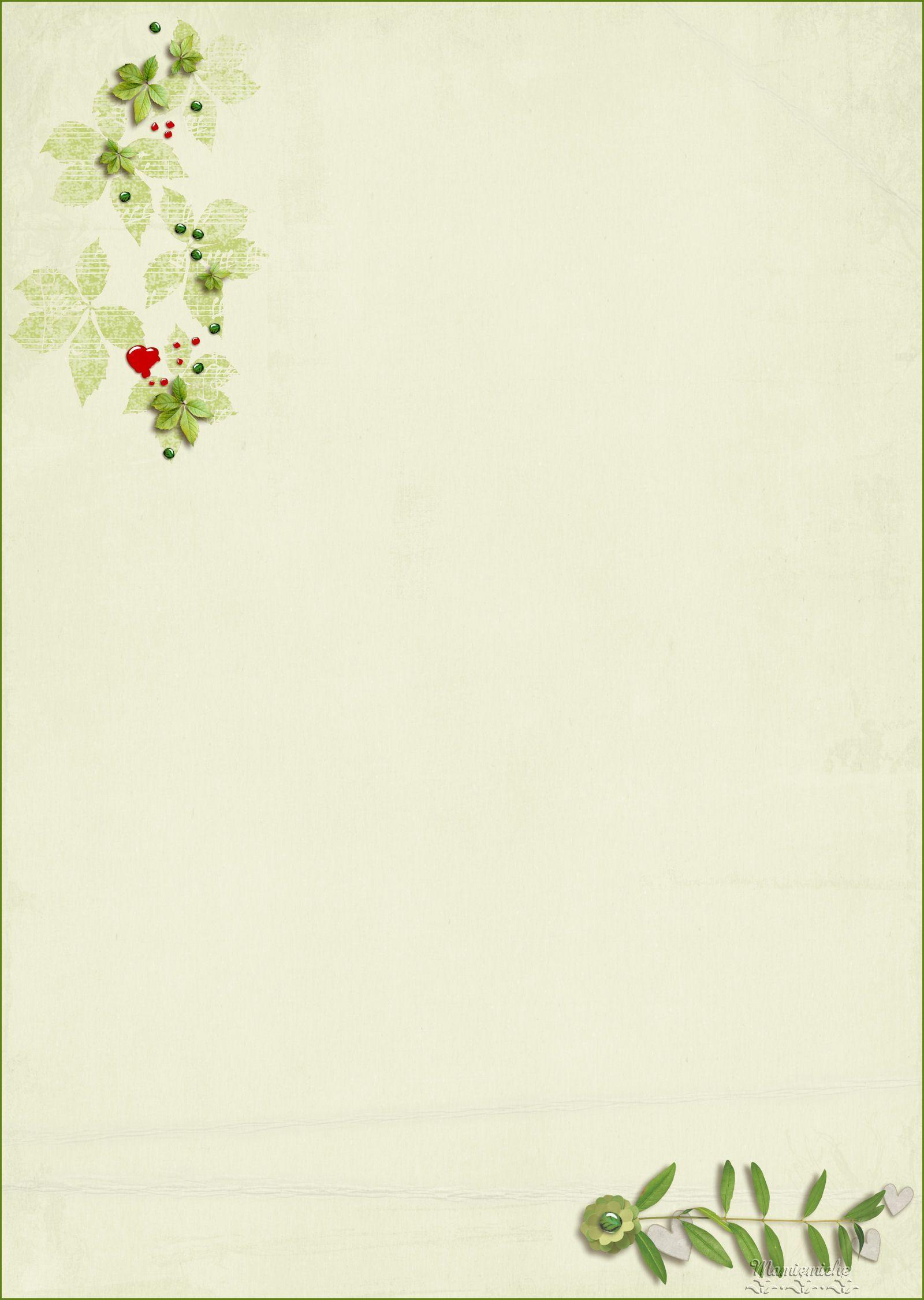 Papier A Lettre - Page 2 intérieur Papier A Letre