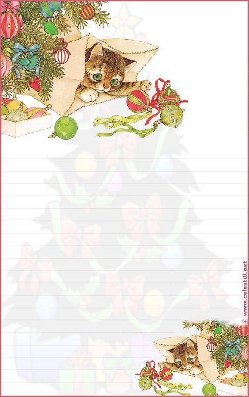Papier A Lettre - Page 7 encequiconcerne Papier A Lettre Noel
