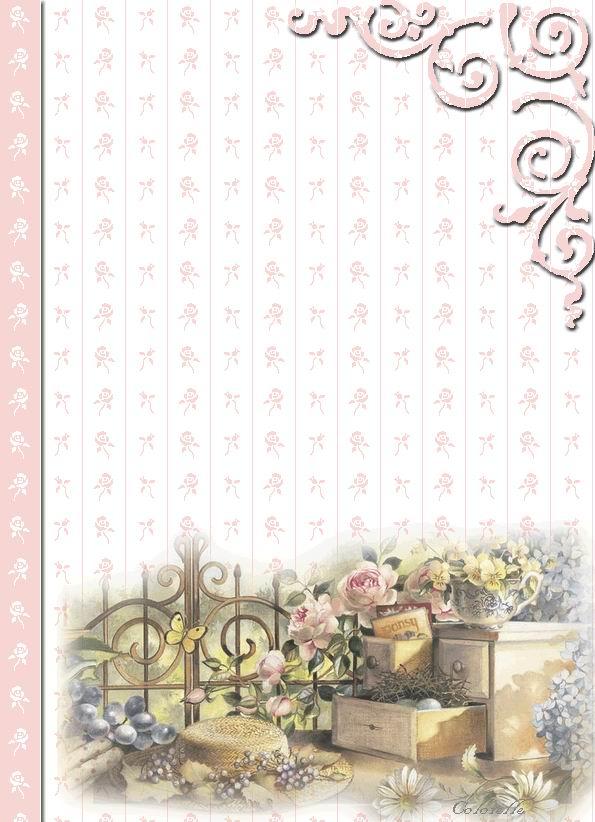Papiers À Lettre À Imprimer concernant Papier A Letre
