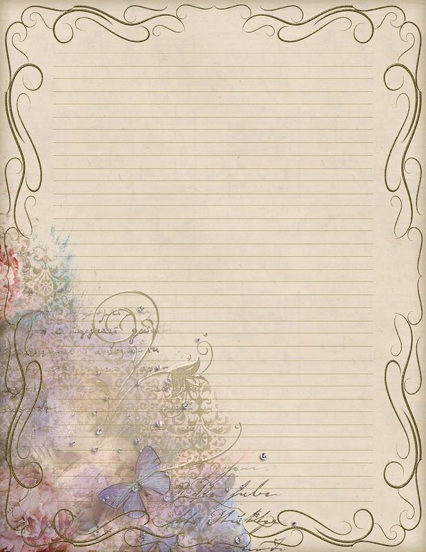 Papiers A Lettre dedans Papier A Letre