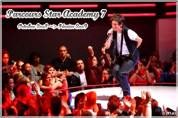 Parcours De La Star Academy 7 - Octobre 2Oo7 Jusqu'En dedans Star Academy 2007