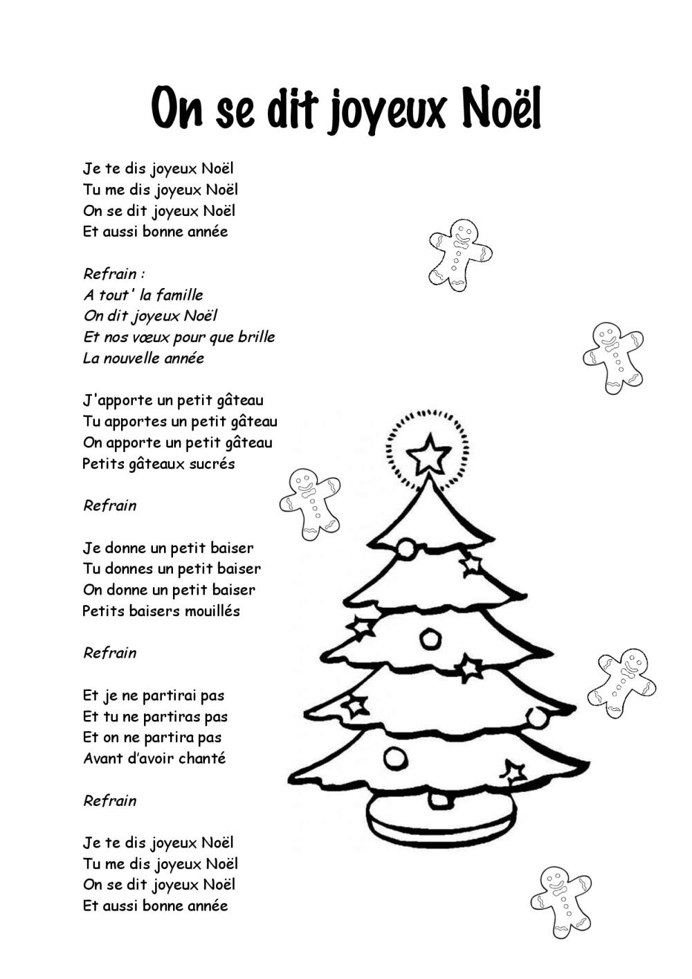Paroles Chansons De Noël | Bdrp tout Chansons Du Pere Noel
