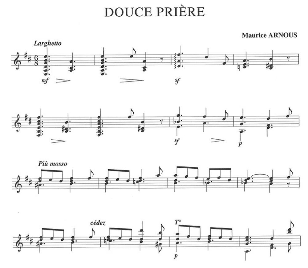 Partition Guitare Douce France tout Paroles Et Accords De Douce Nuit