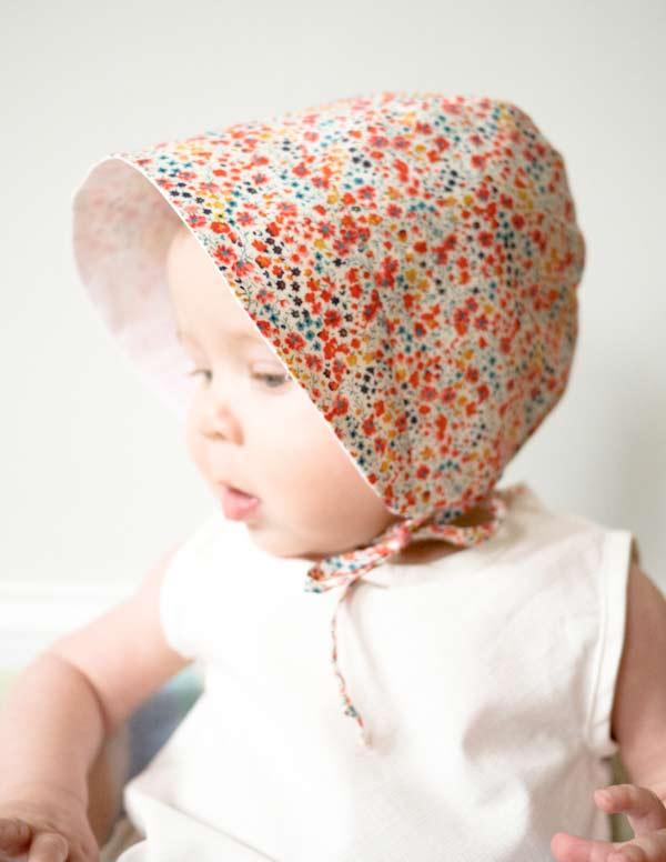 Patron Gratuit : Un Chapeau Trop Chou Pour Bébé - Blog De intérieur Quand Je Mets Mon Chapeau