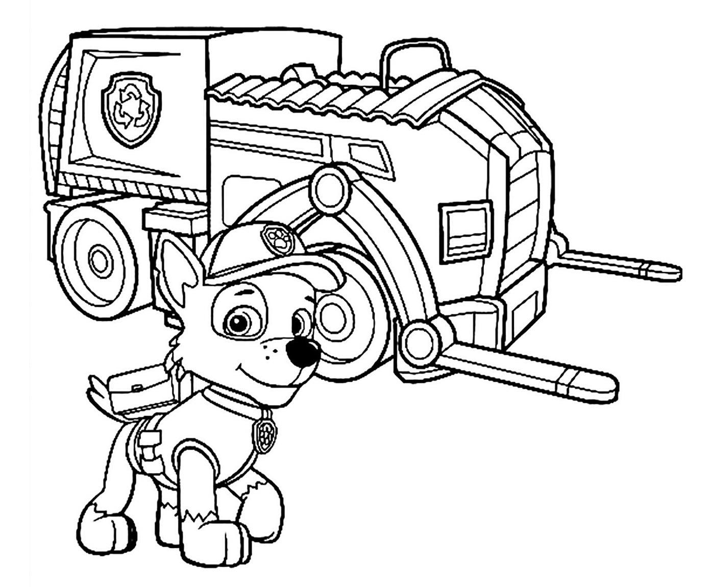 Paw Patrol To Print For Free - Paw Patrol Kids Coloring Pages pour Coloriage A4 À Imprimer