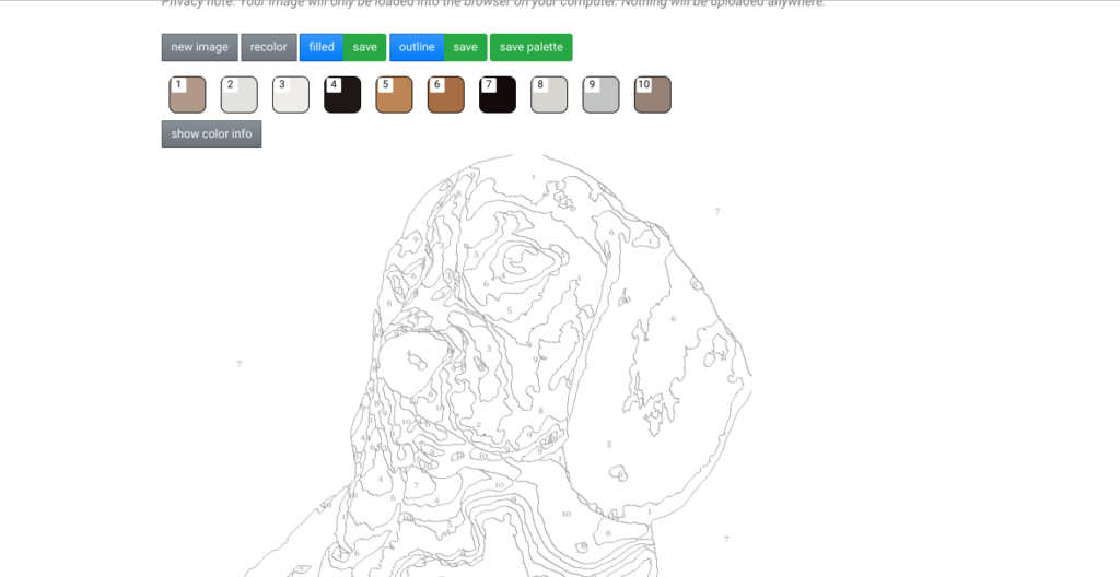 Pbnify: Créez Des Jeux De Coloriage Par Numéro En Quelques concernant Coloriage Par Numéro En Ligne