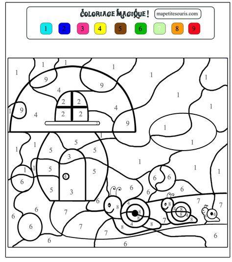 [Pdf]Atelier De Coloriages Magiques En Maths Pour Les Ce intérieur Coloriage Moyenne Section À Imprimer