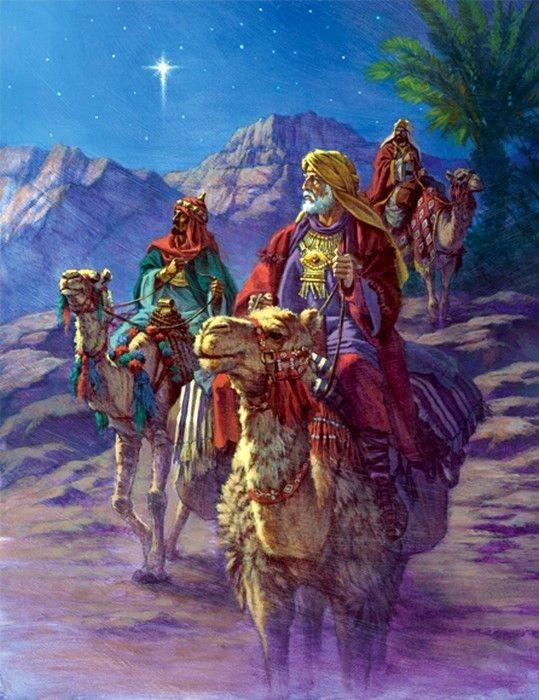 Peinture De Jonathan Guiness | Decoration Noel, Roi Mage dedans Chameaux 3 Rois Mages