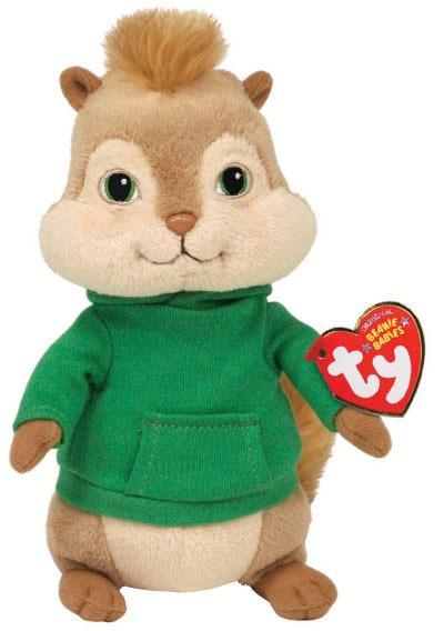 Peluche Alvin Et Les Chipmunks Theodore 16 Cm avec Lan Trotro