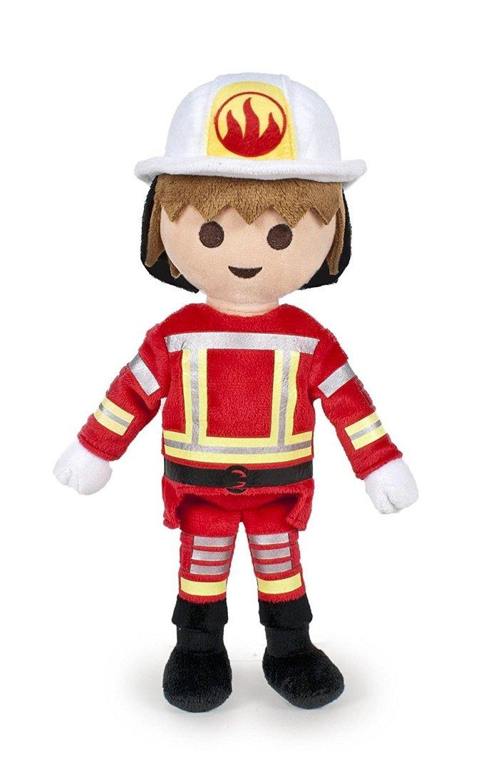 Peluche Playmobil Pompier 30 Cm serapportantà Lan Trotro