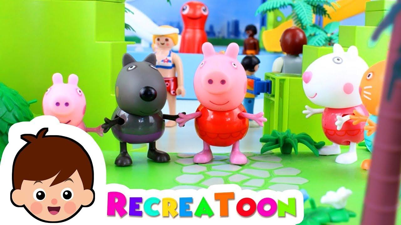 Peppa Pig A La Piscine - Prefierofernandez encequiconcerne Jeux De Peppa Pig A La Piscine