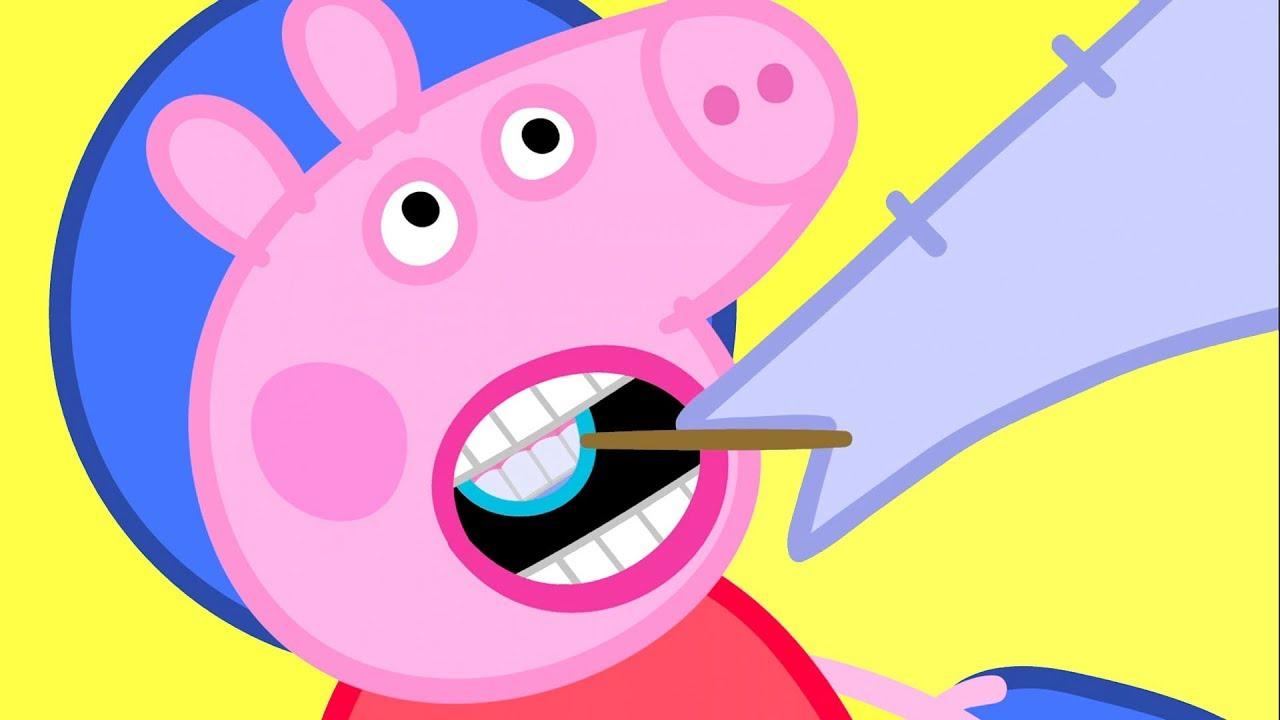 Peppa Pig En Español Episodios Completos 🦷 El Dentista destiné Peppa Pig À La Piscine