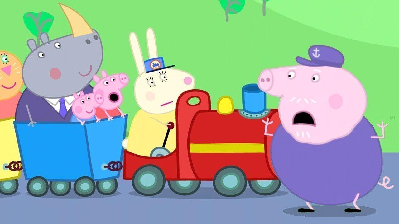 Peppa Pig Français 🚂 Le Petit Train De Papy Pig | Dessin intérieur Peppa Pig À La Piscine