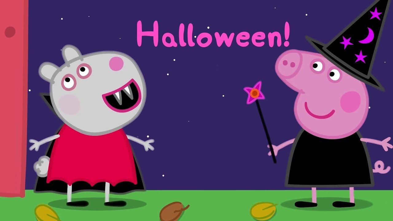 Peppa Pig Français | Halloween! | Compilation - tout Dessin Animé Gratuit Peppa Pig