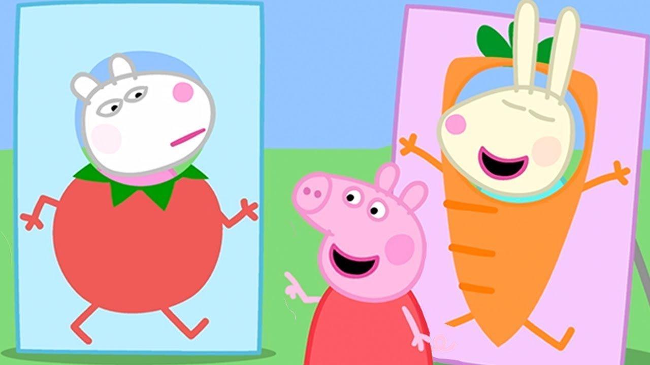 Peppa Pig Full Episodes | Po City 🥔| Cartoons For pour Peppa Pig À La Piscine