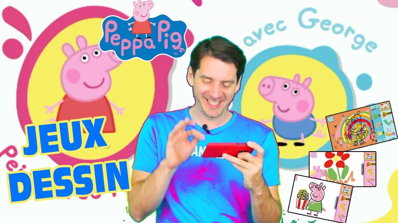 Peppa Pig Jeux Peppa Pig Coloriage - Jeu Mobile Gratuit tout Jeux Coloriage Android