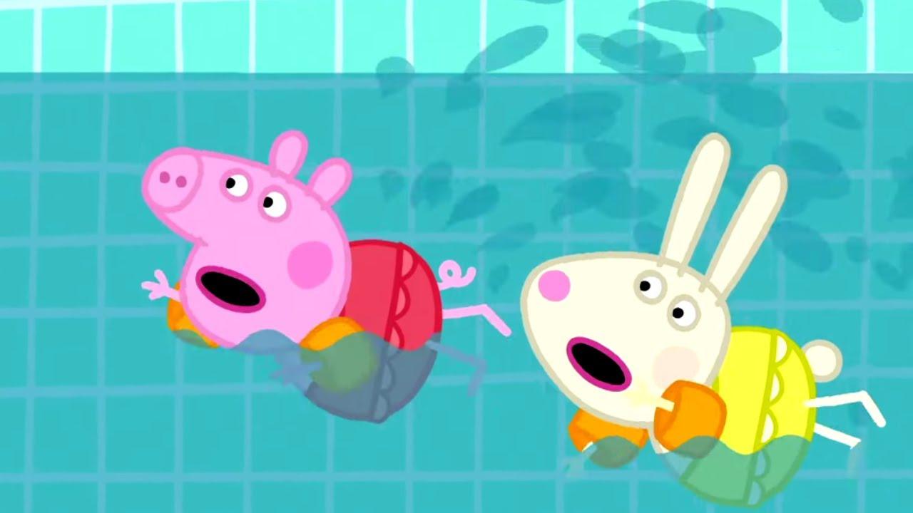 Peppa Pig Português Brasil | | Nadando 💦 Pepa Ping Ping concernant Jeux De Peppa Pig A La Piscine