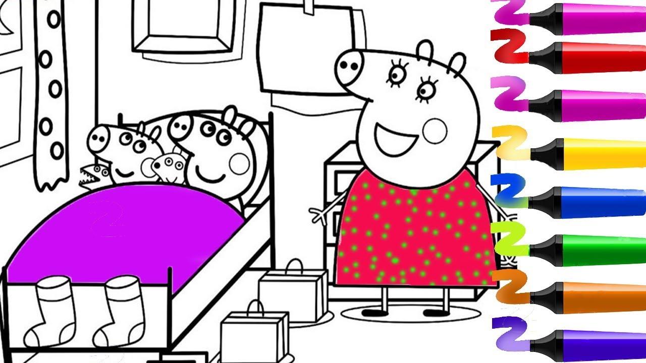 #Peppapigenfrancais | Coloriage Peppa Pig | Coloriage à Coloriage Peppa Pig