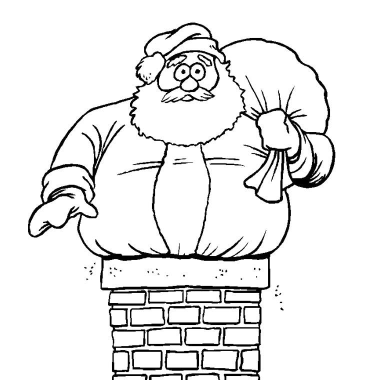Pere Noel Dessin A Colorier | Kozbeszerzesek serapportantà Comment Dessiner Le Pere Noel
