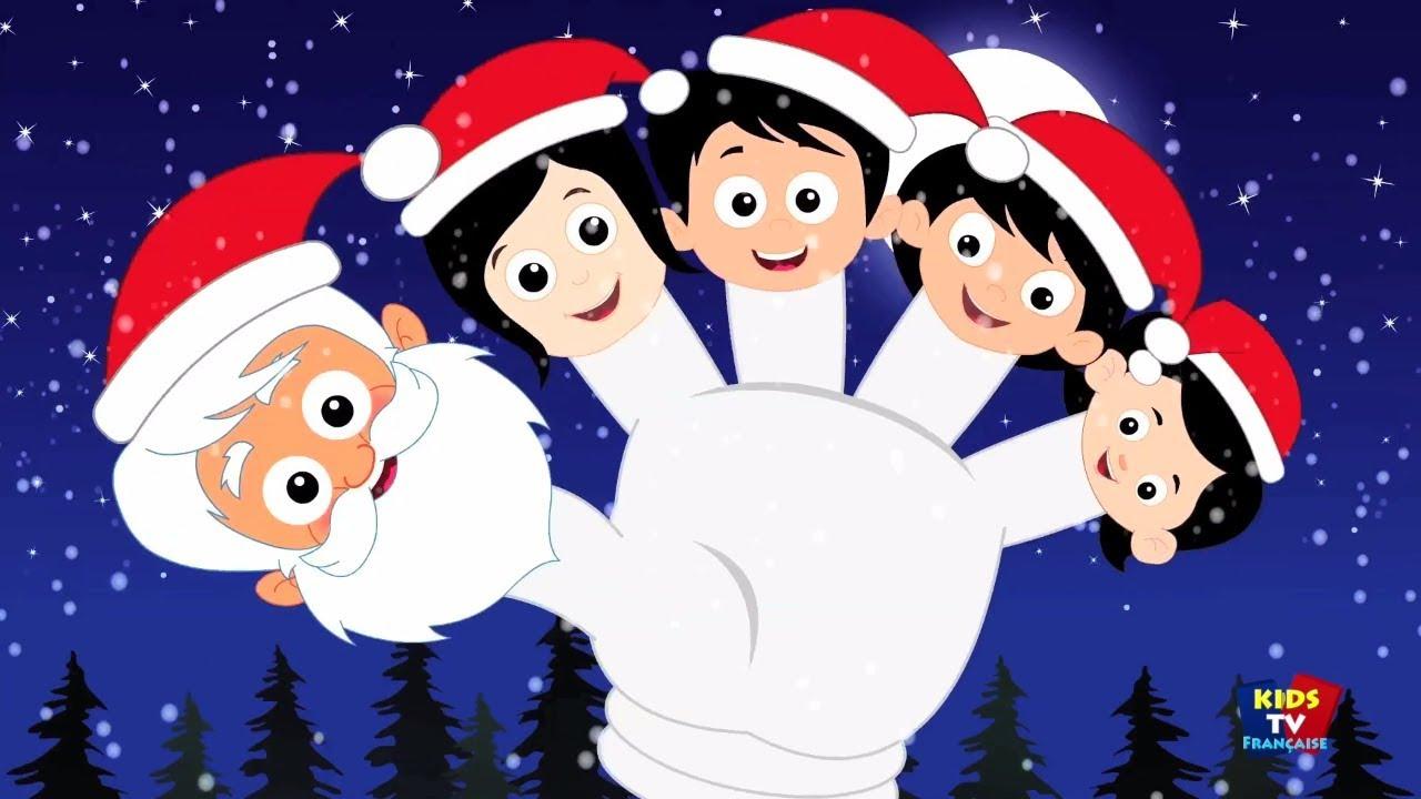 Père Noël Doigt Famille | Noël Chansons Pour Enfants serapportantà Chansons Du Pere Noel