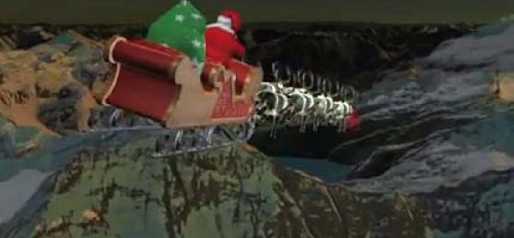 Père Noël Enrôlé Par Le Norad | Réseau International dedans Nom Des Rennes Du Pere Noel