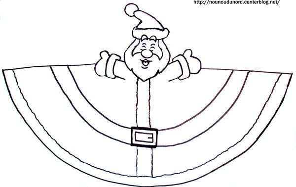 Père-Noël - Pere Noel Maternelle à Pere Noel A Imprimer Et A Decouper