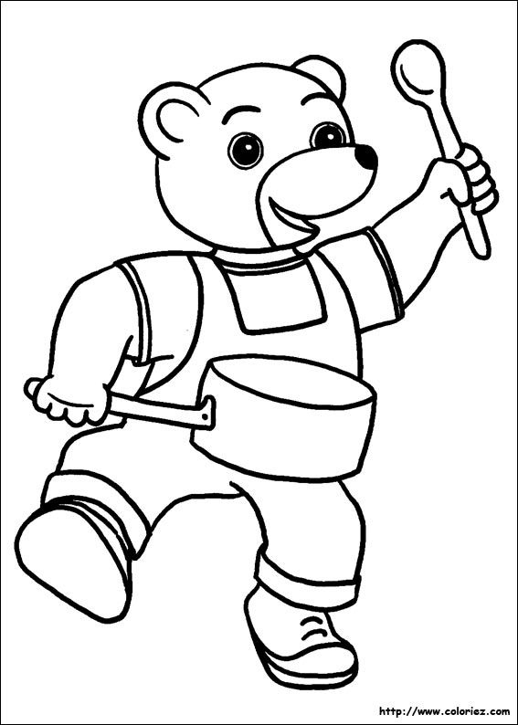 Petit Ours Brun | Petit Ours Brun, Coloriage Ours, Ours Brun destiné Coloriage Petit Ours Brun